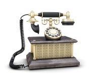forntida telefon royaltyfri illustrationer