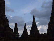 Forntida tempel Fotografering för Bildbyråer