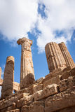 forntida tempel Arkivbild