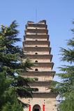 Forntida tempel Royaltyfri Bild