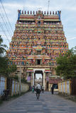 Forntida tempel av Indien Arkivbilder