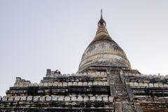 Forntida tempel Bagan, Myanmar Royaltyfri Fotografi