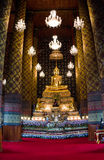 Forntida tempel i bangkok, Thailand Arkivfoton