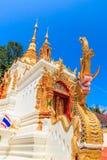 Forntida tempel i det Chiang Mai landskapet, Thailand Royaltyfria Foton