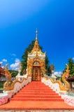 Forntida tempel i det Chiang Mai landskapet, Thailand Royaltyfri Bild