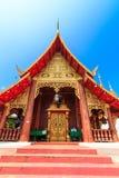 Forntida tempel i det Chiang Mai landskapet, Thailand Royaltyfria Bilder