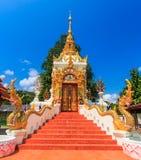 Forntida tempel i det Chiang Mai landskapet, Thailand Royaltyfri Fotografi