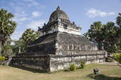 Forntida tempel i Laos Royaltyfri Bild