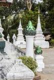 Forntida tempel i Laos Arkivfoton