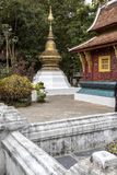 Forntida tempel i Laos Royaltyfria Bilder