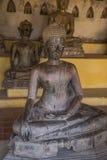 Forntida tempel i Laos Fotografering för Bildbyråer