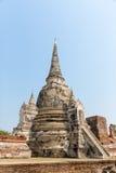 Forntida tempel i Thailand Arkivbild