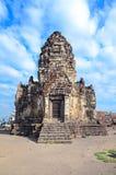 Forntida tempel och pagod i Thailand Arkivbilder