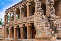 Forntida tempel på Gangaikondaen Cholapuram Royaltyfria Bilder