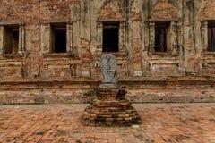 forntida tempel thailand Arkivfoton