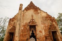 forntida tempel thailand Arkivbilder