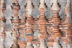 forntida tempelvägg arkivbild