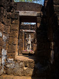 Forntida thai slott eller Prasat Muang Singh i Kanjanaburi, Thail Royaltyfri Foto