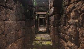 Forntida thai slott (Prasat Muang Singh) Royaltyfri Fotografi