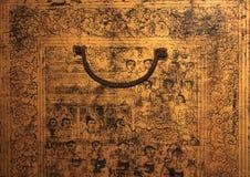 forntida thailand för tempel för phra för målningar för bangkok buddha smaragdkaew wat Royaltyfri Fotografi