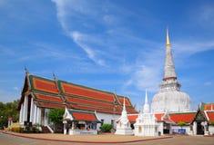 forntida thammarat för nakhonpagodasi thailand Royaltyfri Fotografi