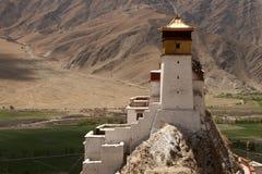 Forntida tibetan kloster Royaltyfri Bild