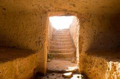forntida tomb Arkivfoto