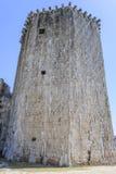 Forntida torn för fästningsten croatia trogir Royaltyfri Foto