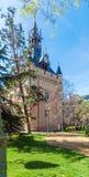 Forntida torn - symbol av Toulouse, Frankrike royaltyfri foto