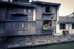 forntida town Royaltyfri Fotografi