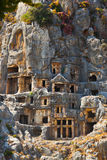 Forntida town i Myra, Turkiet Royaltyfri Bild