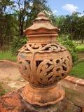 Forntida trädgårds- lampa Royaltyfri Bild