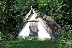 Forntida träladugård royaltyfri bild