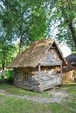 Forntida träladugård royaltyfri fotografi