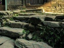 Forntida trappa royaltyfri bild
