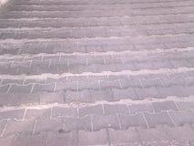 Forntida trappa Arkivfoto