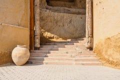 forntida trappuppgång Arkivbilder