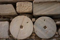 forntida vägg Fotografering för Bildbyråer