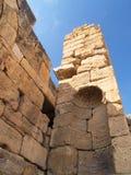 forntida vägg Arkivbild