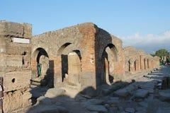 forntida väggar Arkivbilder
