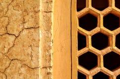 Forntida väggar, gamla Delhi, Indien Arkivfoto