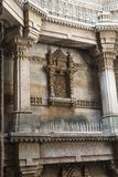 Forntida väl i Ahmedabad, Indien, 2016 arkivfoto