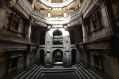 Forntida väl i Ahmedabad, Indien royaltyfri fotografi