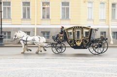 forntida vagn Royaltyfri Fotografi
