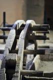 forntida vattenhjul Royaltyfri Fotografi