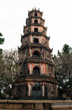 Forntida vietnamesisk pagod Arkivbilder