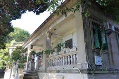 Forntida villa i kulangsuön fotografering för bildbyråer