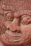 Forntida wood hantverk Arkivfoton