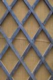 Forntida wood vägg Arkivfoton