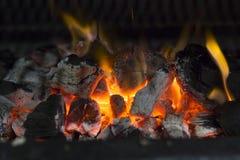 Fornuis op houtskool Royalty-vrije Stock Foto's